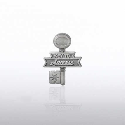 Lapel Pin - Key to Success Key