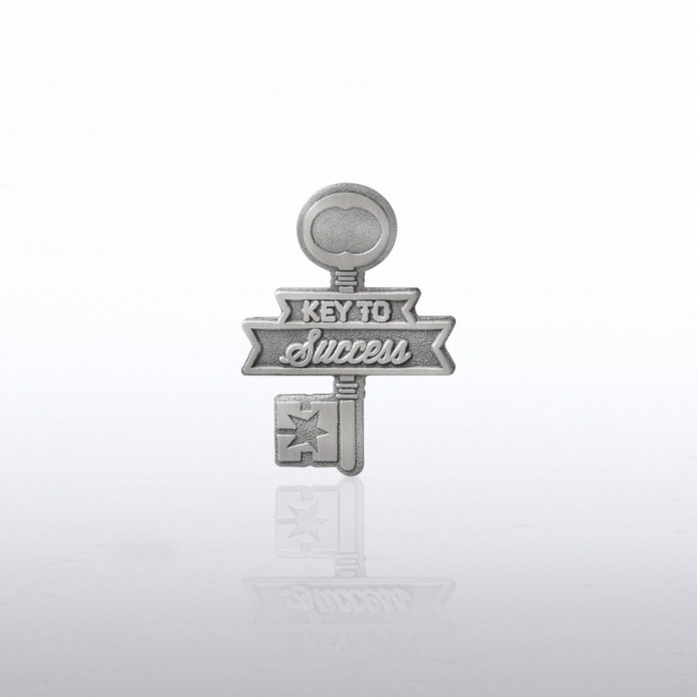 View larger image of Lapel Pin - Key to Success Key