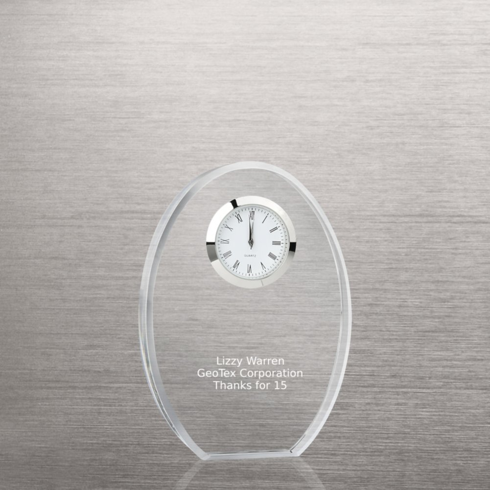 View larger image of Classic Crystal Desktop Clock