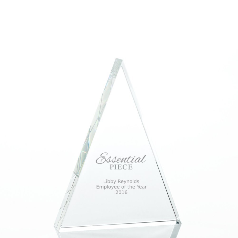 View larger image of Value Crystal Award Collection - Triangle