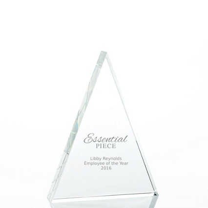 Value Crystal Award Collection - Triangle