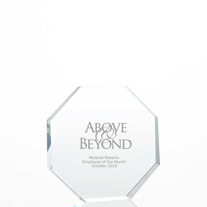 Value Crystal Award Collection - Octagon