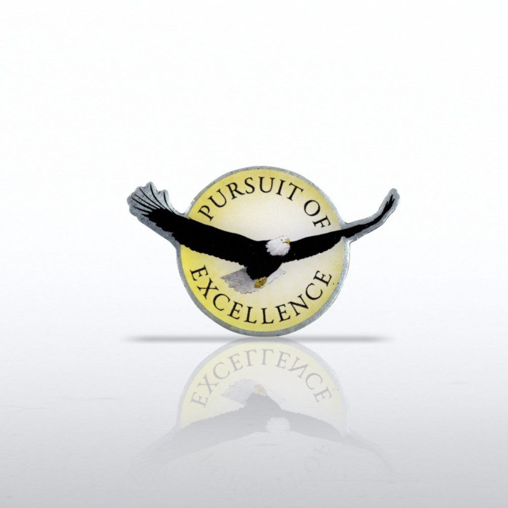 View larger image of Lapel Pin - Eagle: Pursuit of Excellence