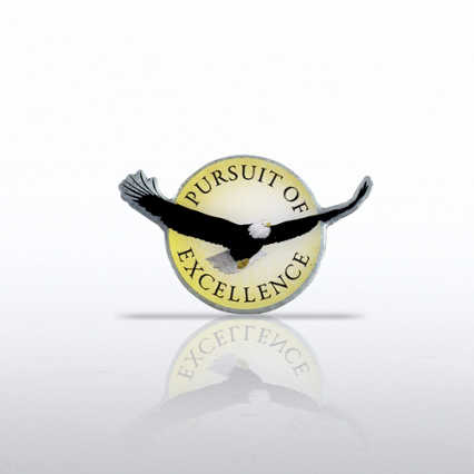Lapel Pin - Eagle: Pursuit of Excellence