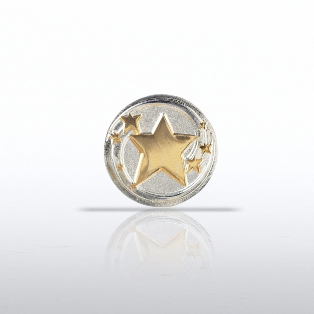View larger image of Lapel Pin - Shooting Stars Round
