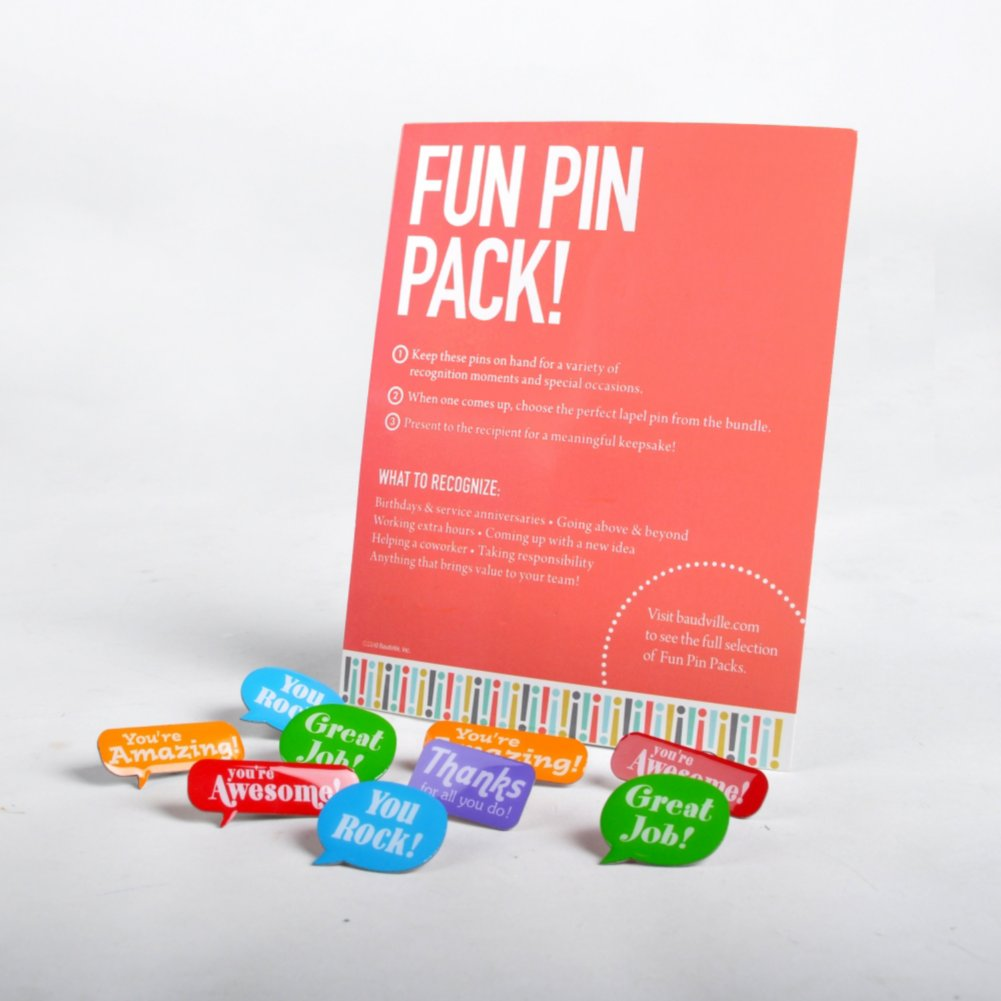 View larger image of Fun Pin Pack - Positive Praise