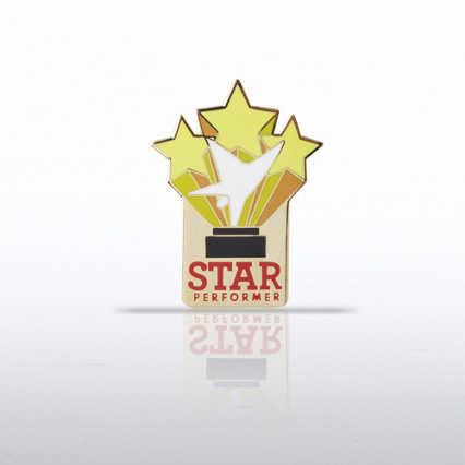Lapel Pin - Trio of Stars - Star Performer