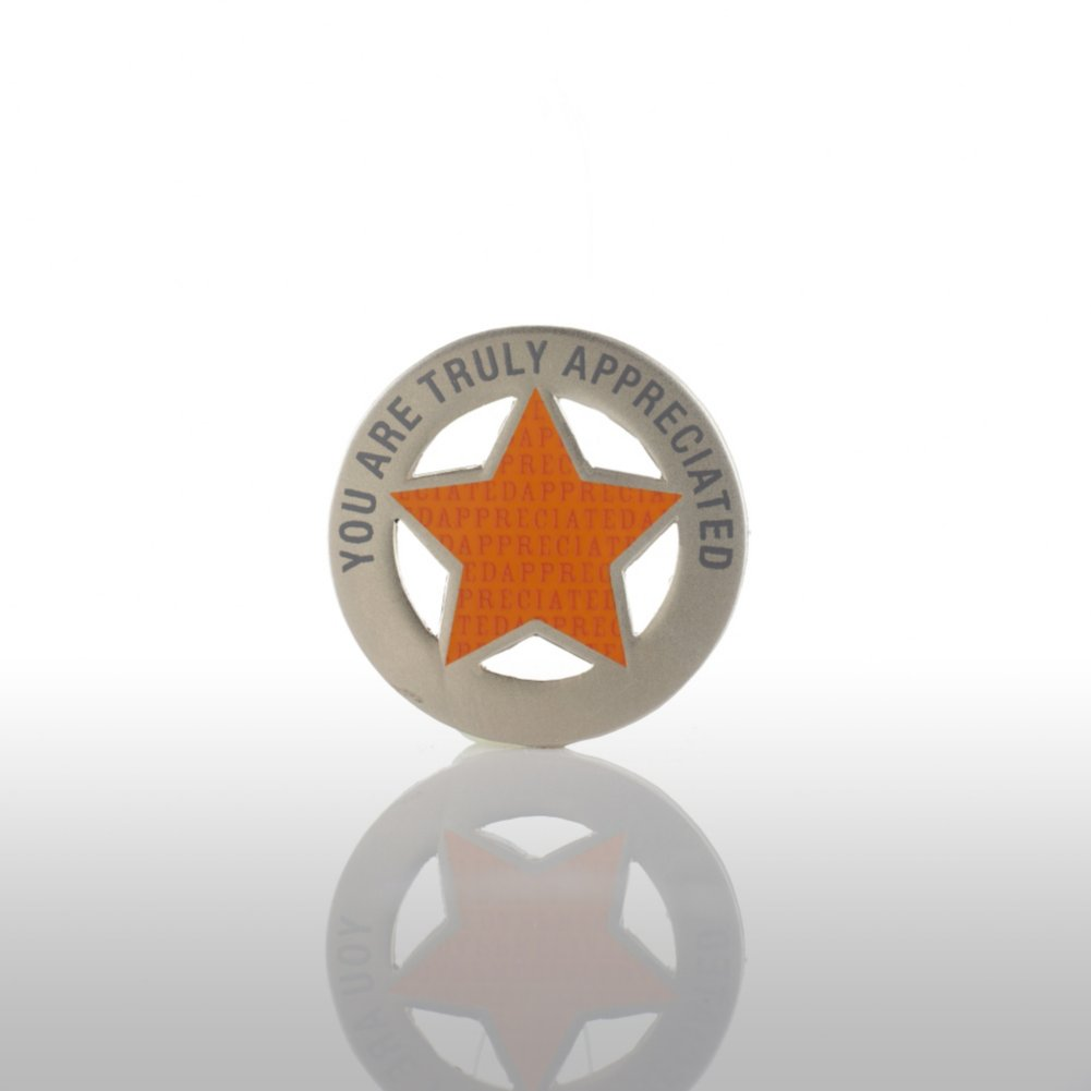 Lapel Pin - You are Truly Appreciated - Round