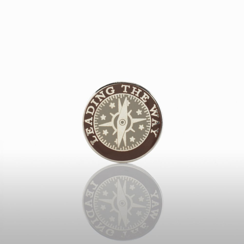 View larger image of Lapel Pin - Leading the Way - Round