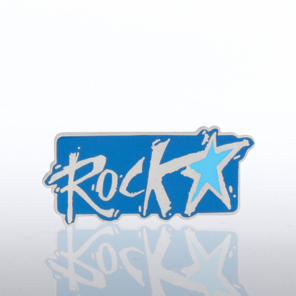 View larger image of Lapel Pin - Rockstar