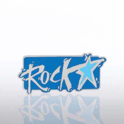 Lapel Pin - Rockstar
