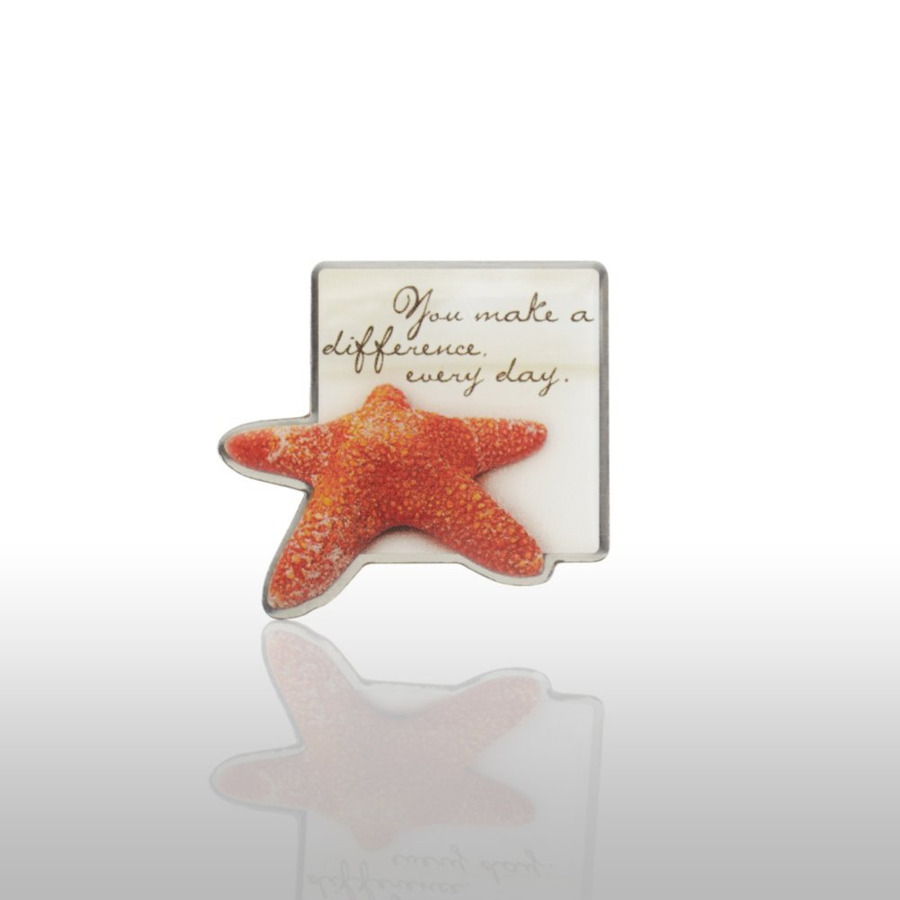 View larger image of Lapel Pin - Starfish: Making the Difference - Sand Star