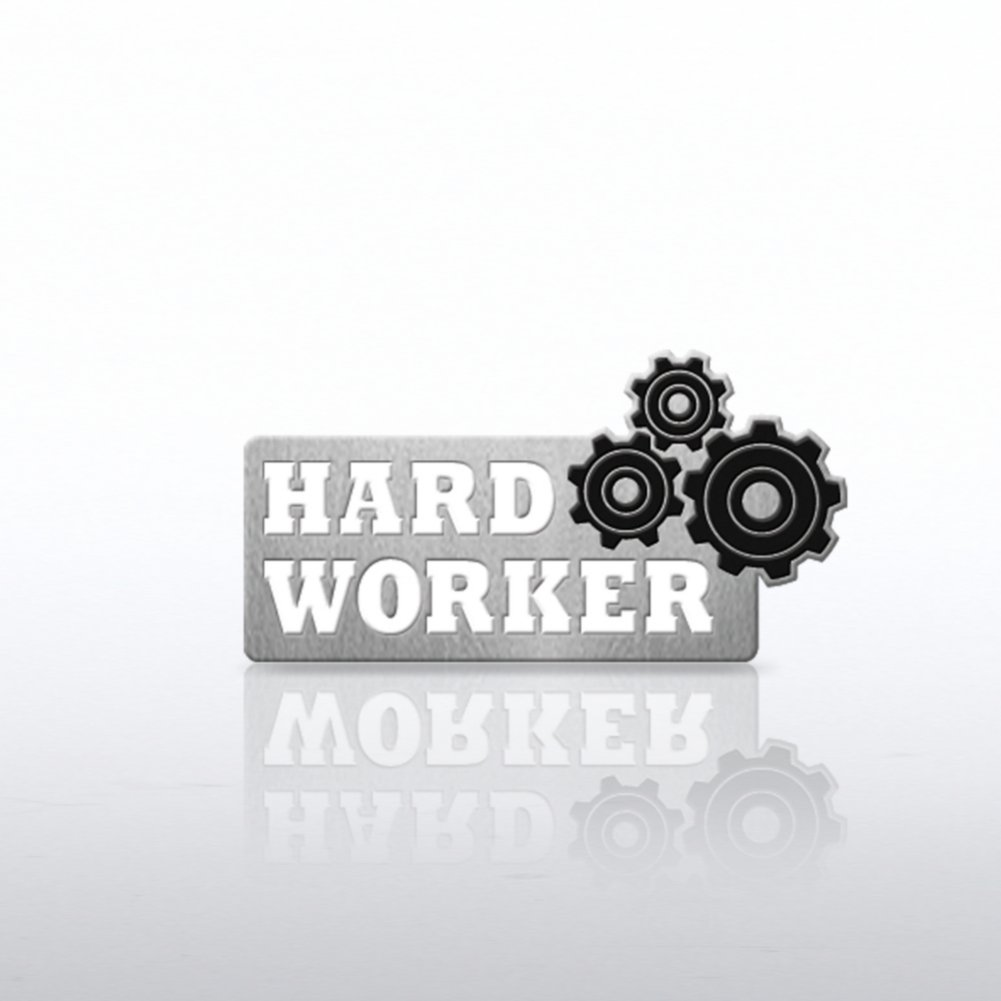 View larger image of Lapel Pin - Gears - Hard Worker