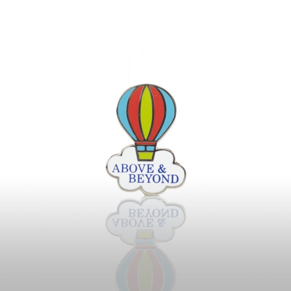 View larger image of Lapel Pin - Above & Beyond - Balloon