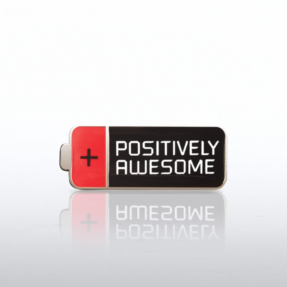View larger image of Lapel Pin - Positively Awesome