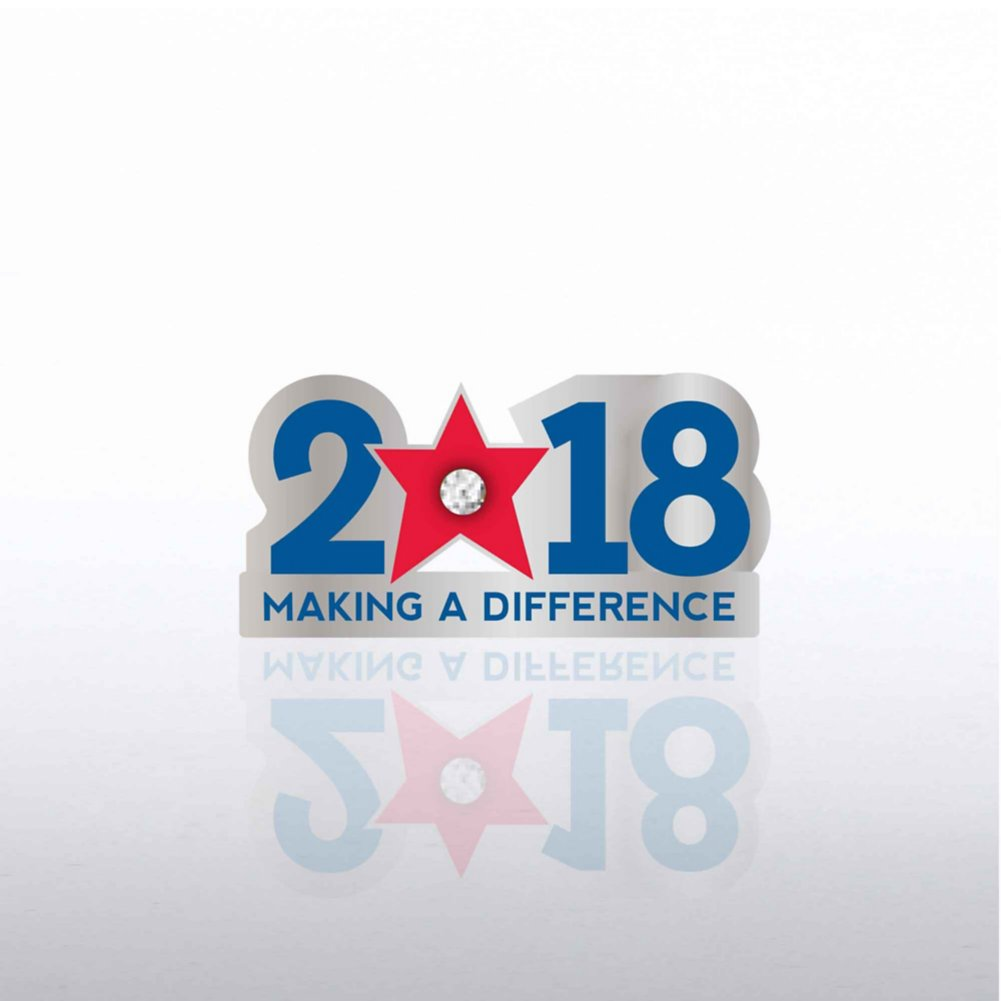 Lapel Pin - 2018: Making a Difference with Gem