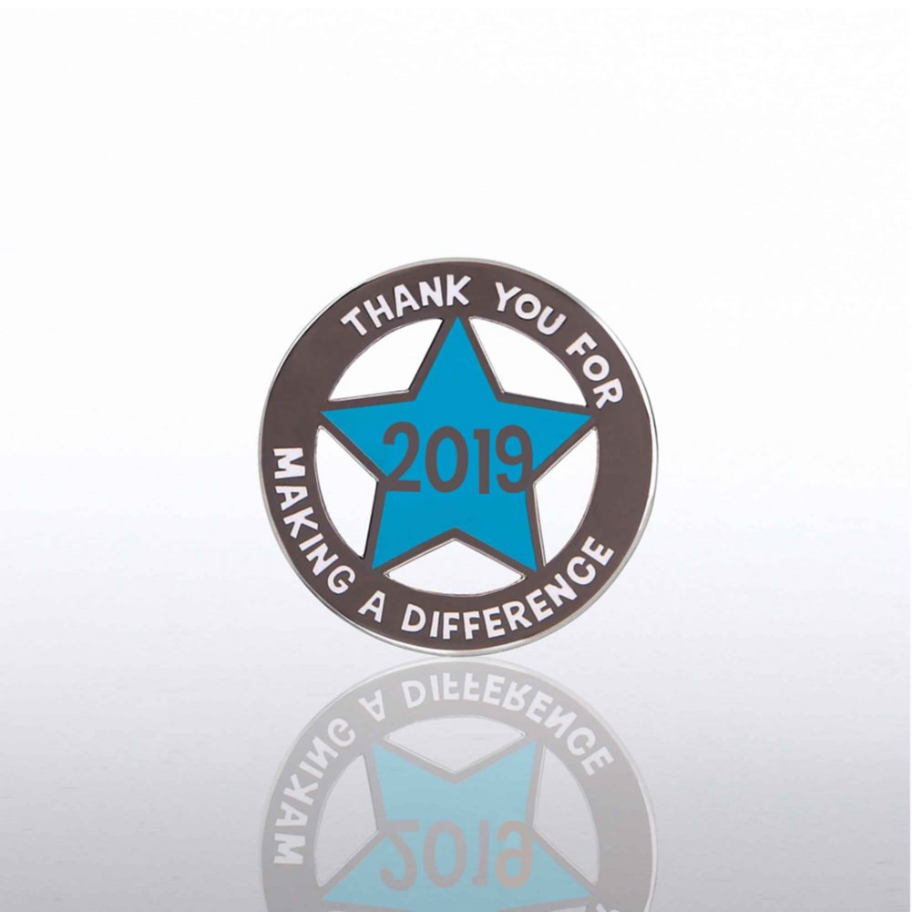 View larger image of Lapel Pin - 2019 Cut Out Star