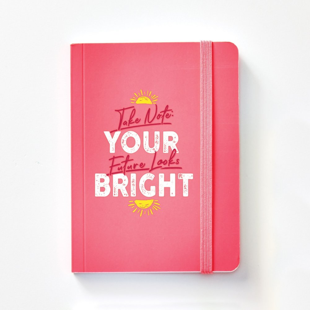 View larger image of Bright Side Neon Mini Journal - Future Looks Bright