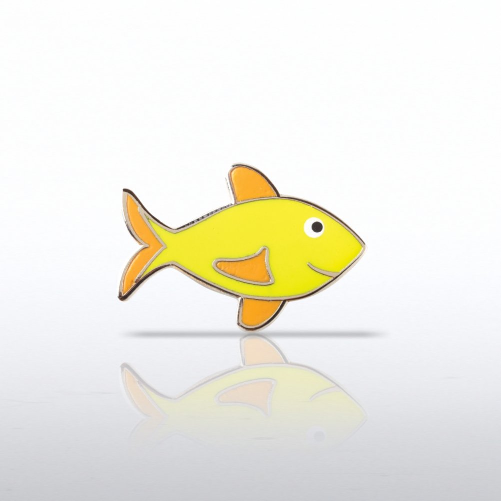 View larger image of Lapel Pin - Attitude is Everything Fish