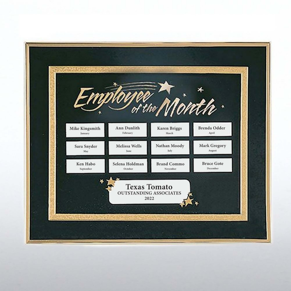 View larger image of Perpetual Recognition Program - Employee of the Month