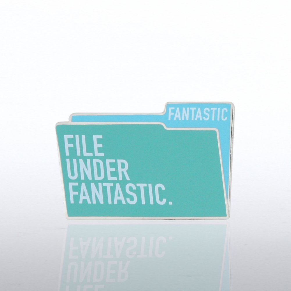 View larger image of Lapel Pin - File Under Fantastic