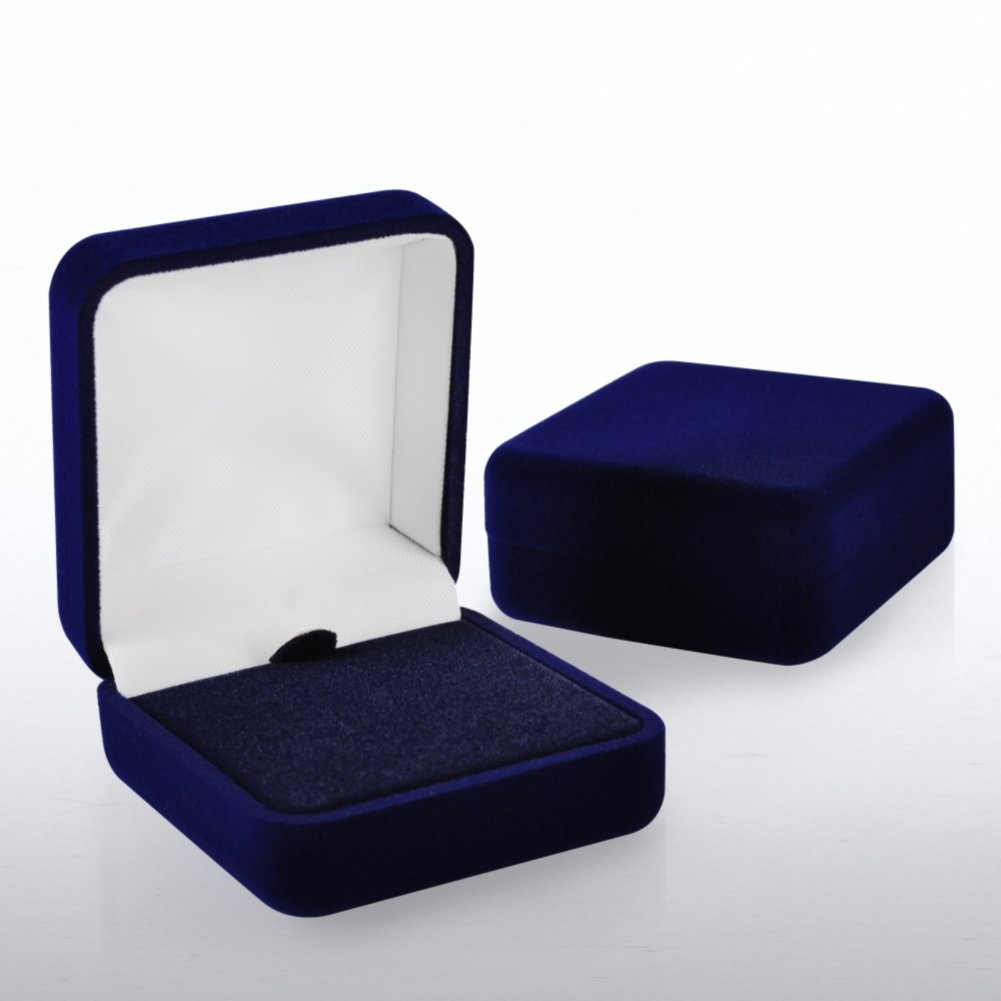 View larger image of Lapel Pin Presentation Box - Blue