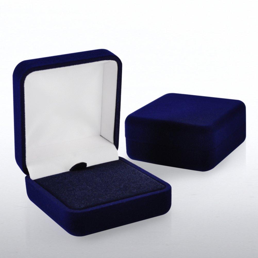 View larger image of Lapel Pin Presentation Box - Blue