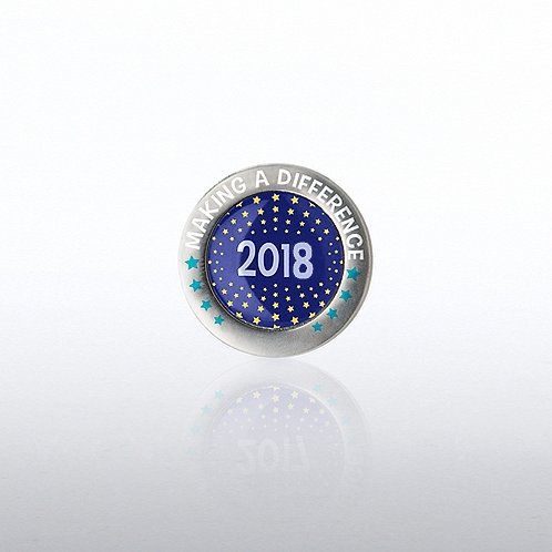 Lapel Pin - 2018 Making a Difference