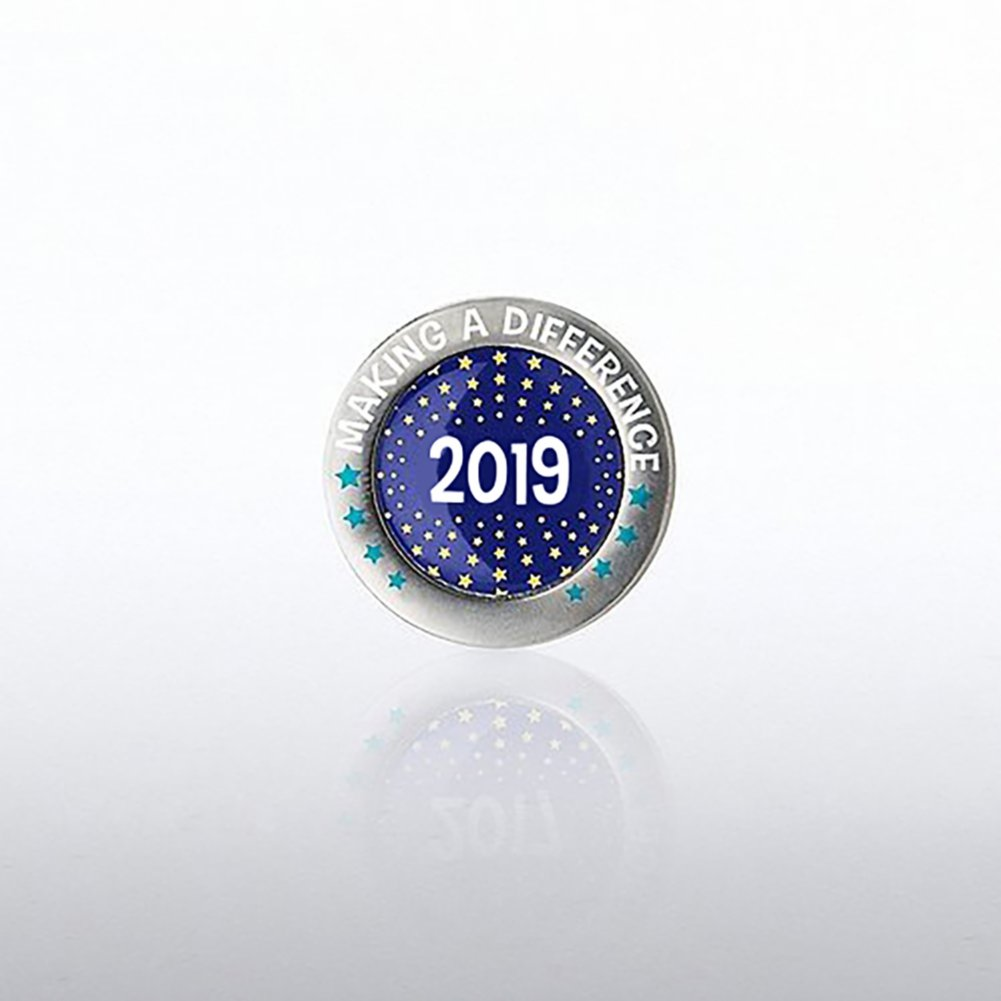 View larger image of Lapel Pin - 2019 Making a Difference