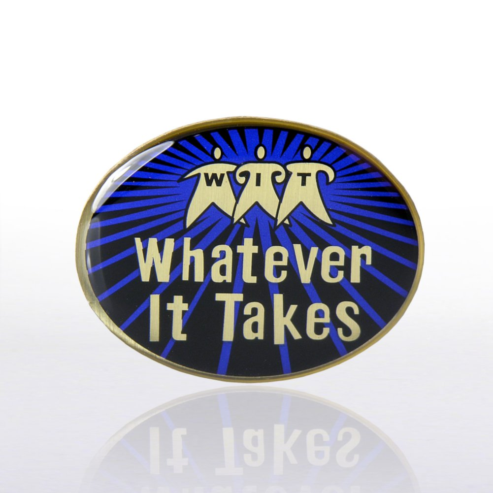 View larger image of Lapel Pin - Whatever It Takes - Multi-Color