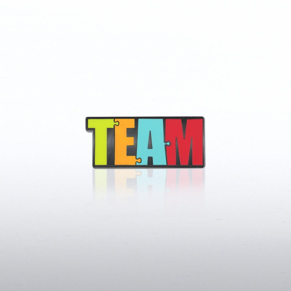 View larger image of Lapel Pin - Team Puzzle