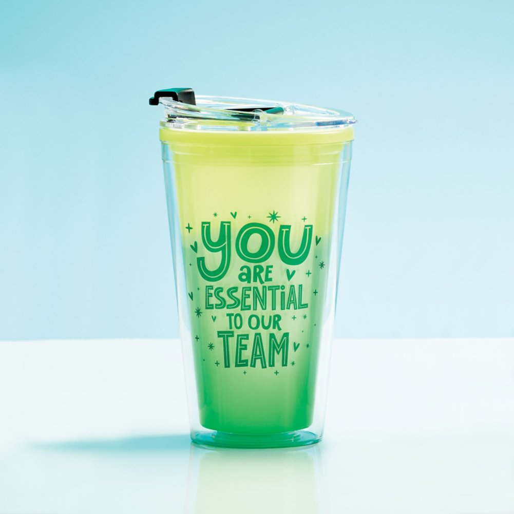 View larger image of Vibrant Color Changing Travel Tumbler - Essential To Our Team