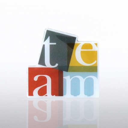 Lapel Pin - TEAM - Multi Color