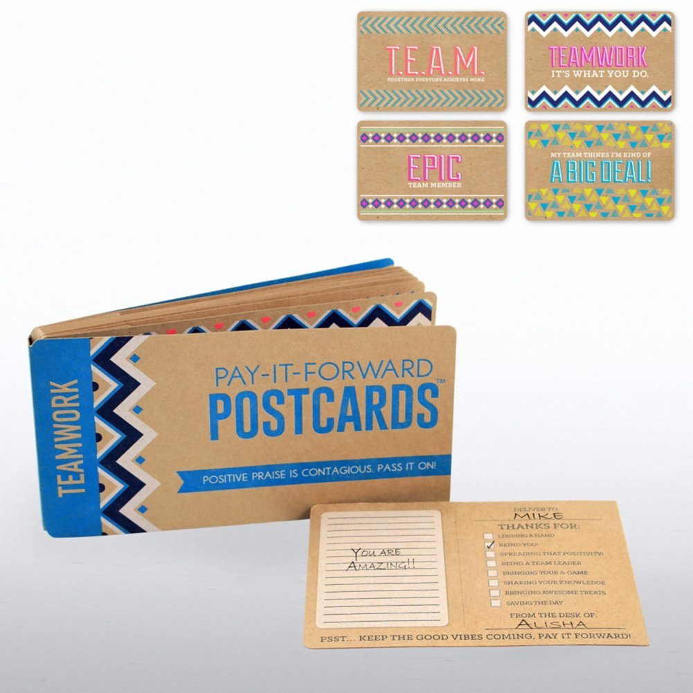 Pay-it-Forward Postcards - Teamwork