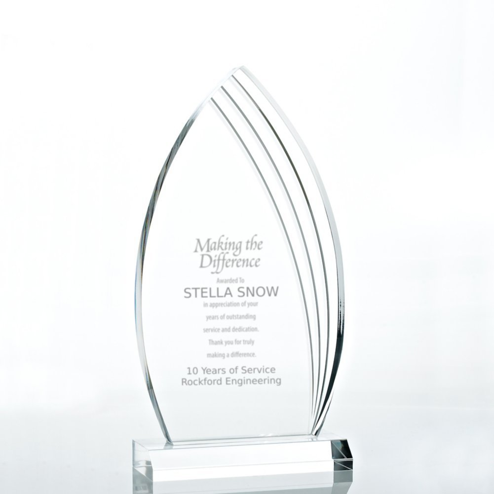 View larger image of Contemporary Acrylic Trophy Collection - Peak