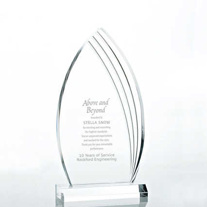 Contemporary Acrylic Trophy Collection - Peak