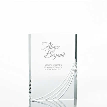 Contemporary Acrylic Trophy Collection - Rectangle