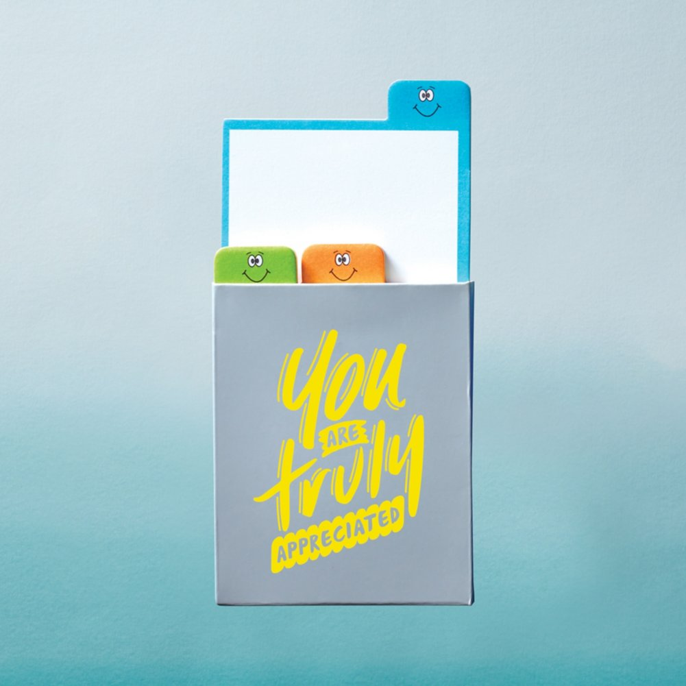 View larger image of Value Emoti Notepad Set - Truly Appreciated