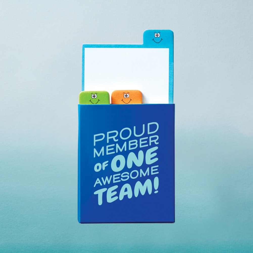 View larger image of Value Emoti Notepad Set - Proud Member