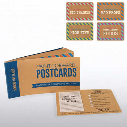 Pay-it-Forward Postcards - Sending You Praise