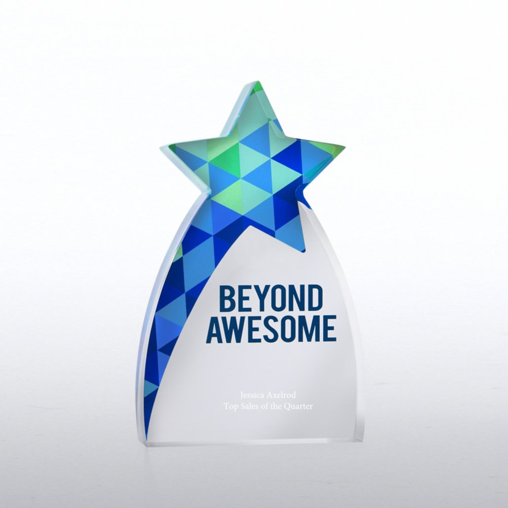 View larger image of Acrylic Brights Trophy Collection - Beyond Awesome