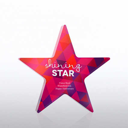Acrylic Brights Trophy Collection - Shining Star