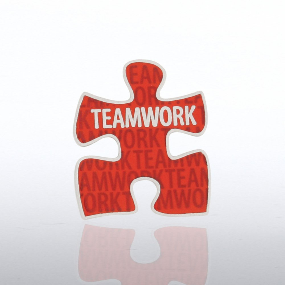 View larger image of Lapel Pin - Teamwork Puzzle Piece