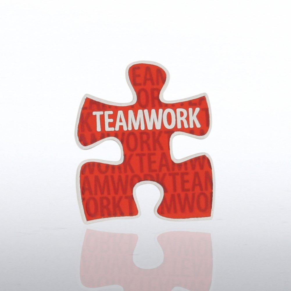 Lapel Pin - Teamwork Puzzle Piece