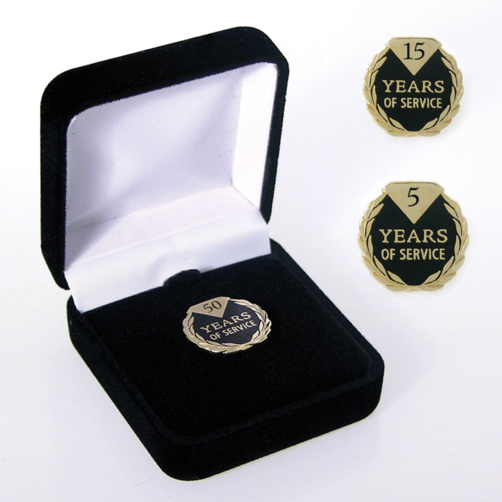 View larger image of Anniversary Lapel Pin - Diamond Laurels