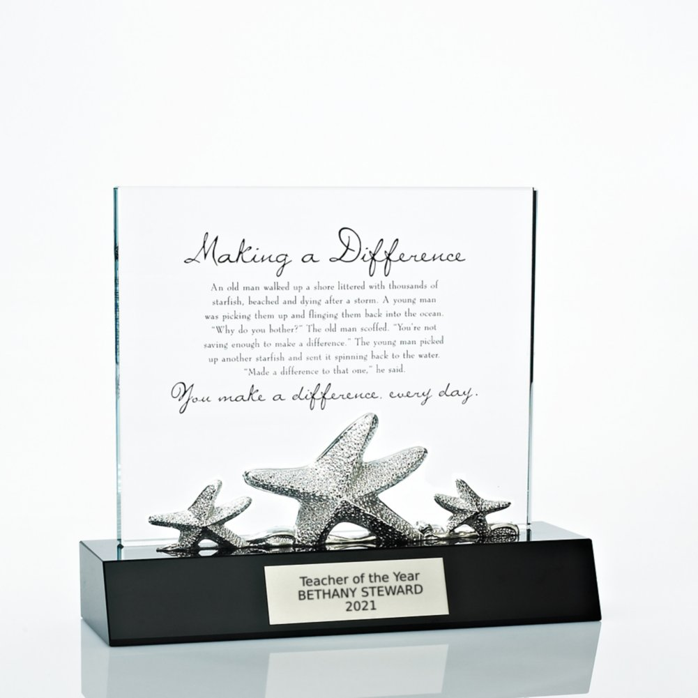 View larger image of Crystal Character Trophy - Starfish