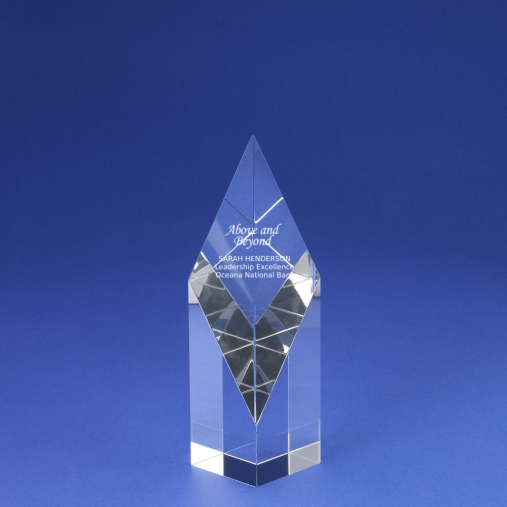 View larger image of Crystal Sculpture Trophy - Diamond
