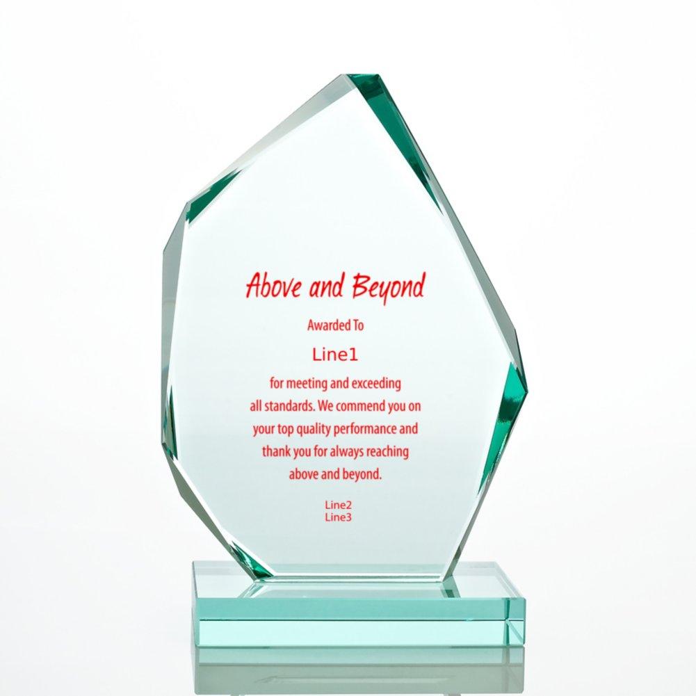 Premium Jade Trophy - Large Peak