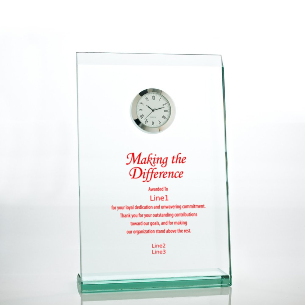 View larger image of Jade Award Clock