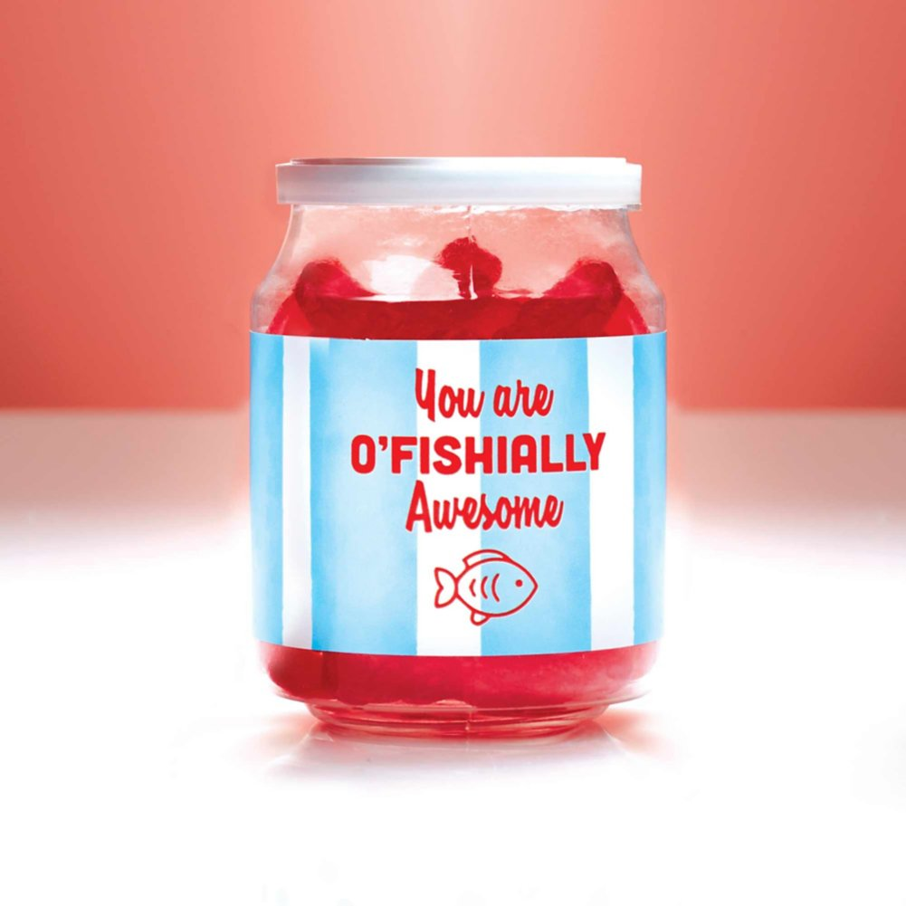 View larger image of Candy Jar - You Are O'Fishially Awesome